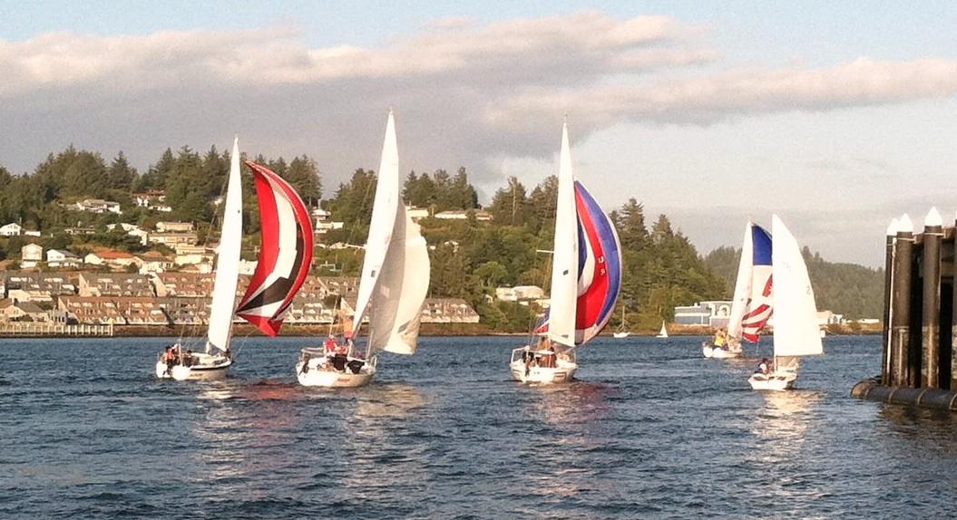sailboats sailing